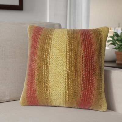 Calmaberry Striped Down Filled Throw Pillow Size: 20 x 20