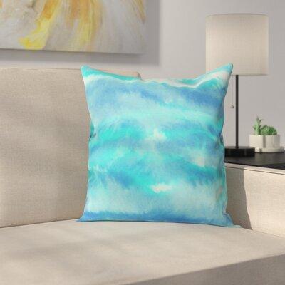 Martin Ombre Waves Outdoor Throw Pillow Size: 16 H x 16 W x 4 D