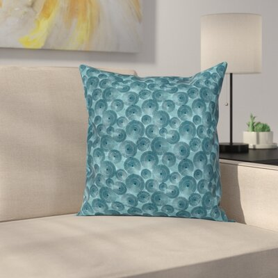 Modern Pillow Cover with Zipper Size: 24 x 24