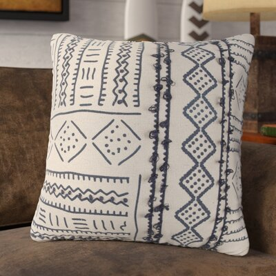 Aine Decorative 100% Cotton Throw Pillow