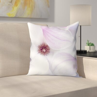 Maja Hrnjak Magnolia Throw Pillow Size: 18 x 18