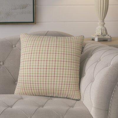Swartz Plaid Cotton Throw Pillow