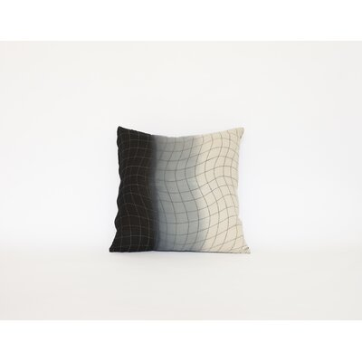 Agathon Dip Dye Quilted Cotton Throw Pillow