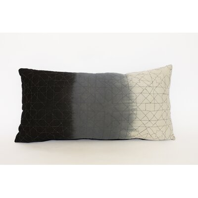 Agathon Dip Dye Quilted Cotton Throw Pillow