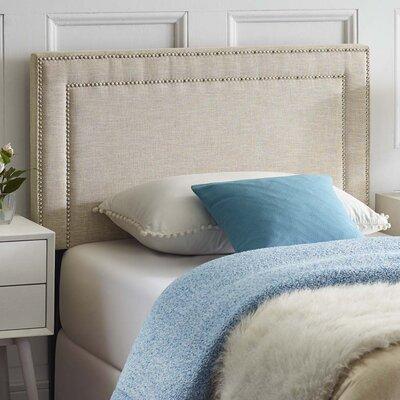 Fregoso Fabric Upholstered Panel Headboard Size: Twin