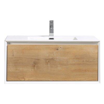 Grist 36 Wall-Mounted Double Bathroom Vanity Set