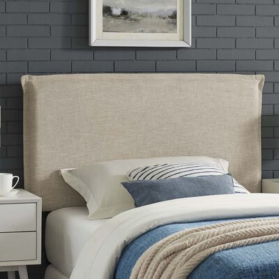 Zimmer Fabric Upholstered Panel Headboard Size: Twin