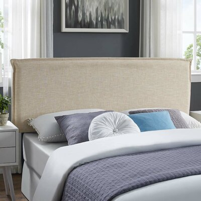 Zimmer Fabric Upholstered Panel Headboard Size: Full