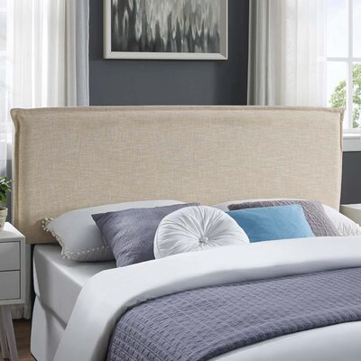 Zimmer Fabric Upholstered Panel Headboard Size: KIng