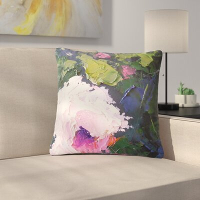 Carol Schiff Textu Rose Painting Outdoor Throw Pillow Size: 16 H x 16 W x 5 D