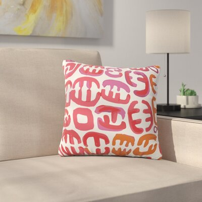 Oliver by Theresa Giolzetti Outdoor Throw Pillow Color: White