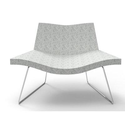 Smile Lounge Chair Finish: Light Gray