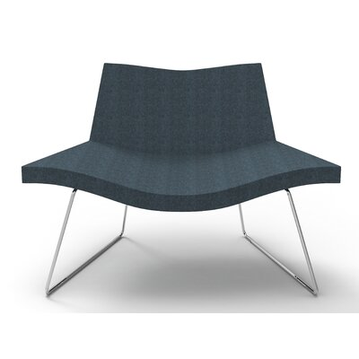 Smile Lounge Chair Finish: Navy