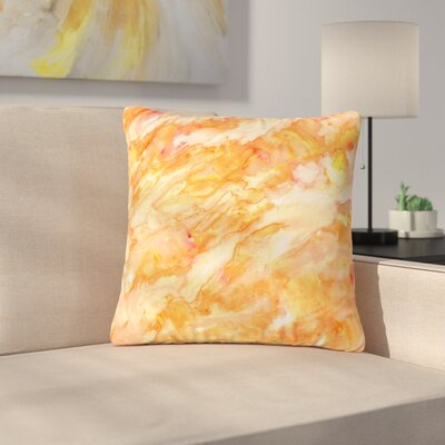 Rosie Brown Autumn Paint Outdoor Throw Pillow Size: 16 H x 16 W x 5 D