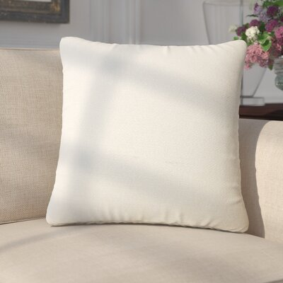 Merlyn Solid Throw Pillow Color: Cornflower