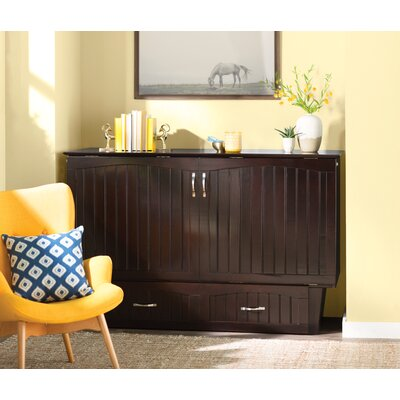 Graham Queen Storage Platform Bed with Mattress Color: Espresso