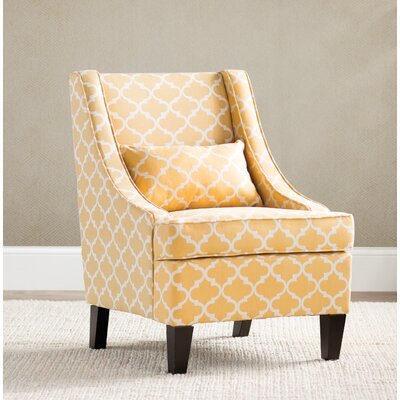 Purcell Armchair Upholstery: Yellow