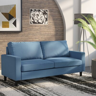 Crews Standard Sofa Upholstery: Blue