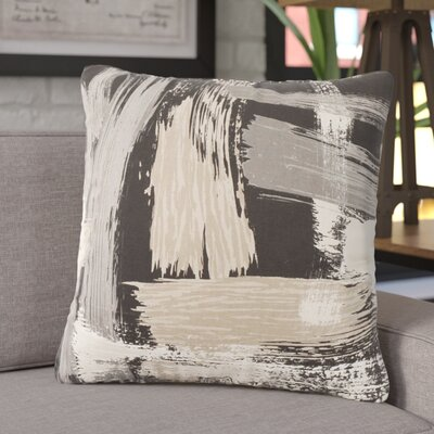 Finola Throw Pillow Color: Charcoal