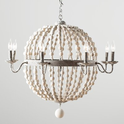 Theophile 8-Light Candle-Style Chandelier