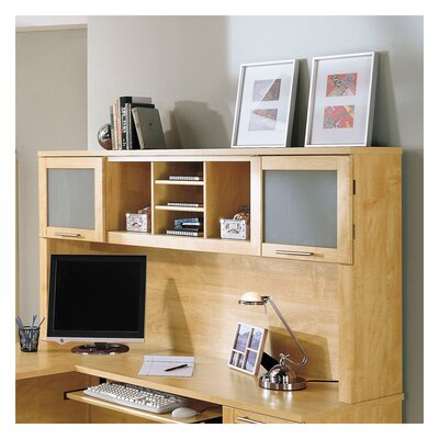 Powder Hollow 36 H x 71 W Desk Hutch Finish: Maple