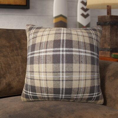 Cerro Alto Plaid Throw Pillow