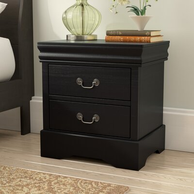 Larrabee 2 Drawer Nightstand