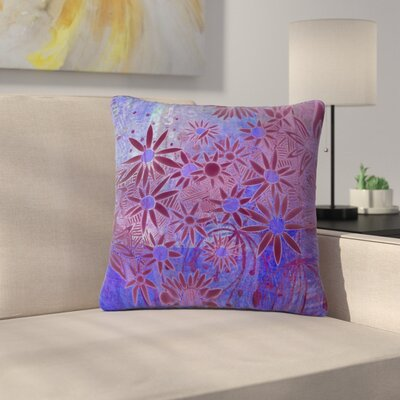 Marianna Tankelevich Night Outdoor Throw Pillow Size: 16 H x 16 W x 5 D, Color: Purple/Blue
