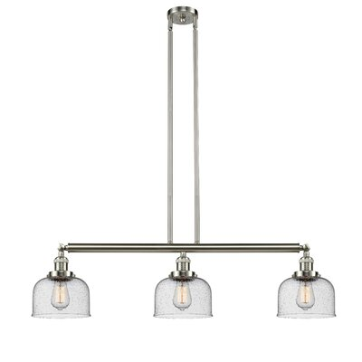 Bradt 3-Light Kitchen Island Pendant Finish: Brushed Satin Nickel
