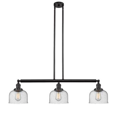 Bradwell 3-Light Kitchen Island Pendant Finish: Oiled Rubbed Bronze