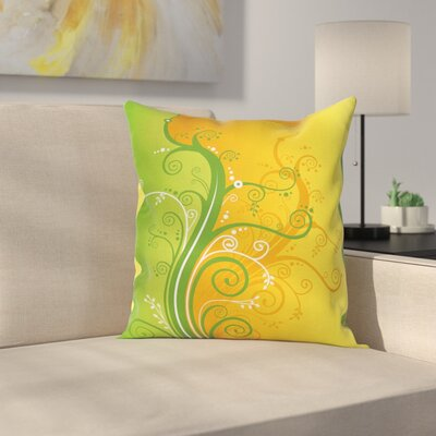 Modern Two Tones Pillow Cover Size: 18 x 18