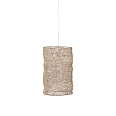 Jessenia Jute 1-Light Mini Pendant