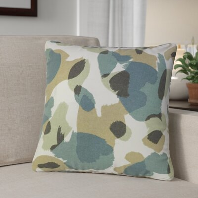 Camelia Down Filled 100% Cotton Throw Pillow Size: 20 x 20, Color: Citrine