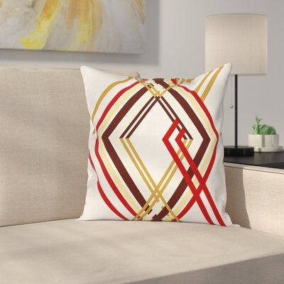 Modern Geometric Pillow Cover Size: 24 x 24