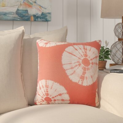 Staples Ikat Throw Pillow Color: Cherry