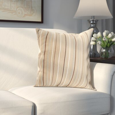 Correia Throw Pillow Color: Mocha Brown