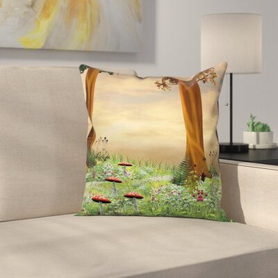 Waterproof Pillow Cover with Zipper Size: 18 x 18