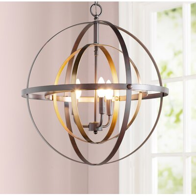 Alessa 3-Light Globe Pendant