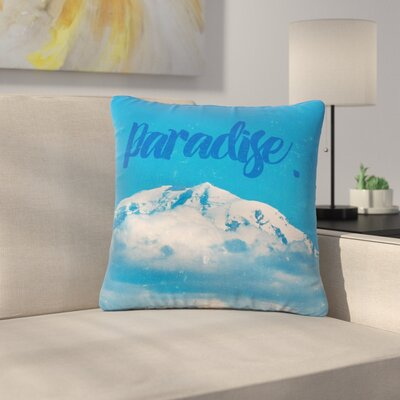 Robin Dickenson Paradise. Nature Outdoor Throw Pillow Size: 16 H x 16 W x 5 D