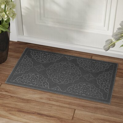Lochner Engravings Medallions Doormat Color: Charcoal