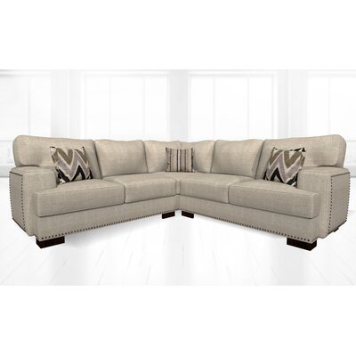 Jhon Sectional Upholstery: Wheat