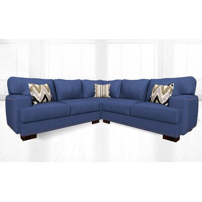 Jhon Sectional Upholstery: Clyde Deep Ocean