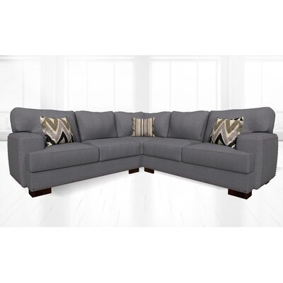 Jhon Sectional Upholstery: Jeopardy Smoke