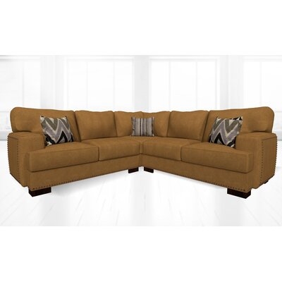 Jhon Sectional Upholstery: London Chestnut
