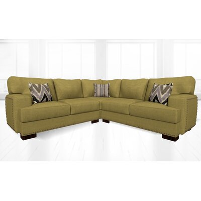 Jhon Sectional Upholstery: Loft Lemon