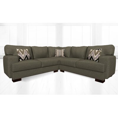 Jhon Sectional Upholstery: Sand Granite