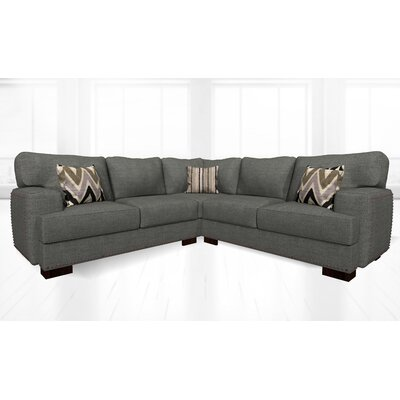 Jhon Sectional Upholstery: Ludlow Dolphine