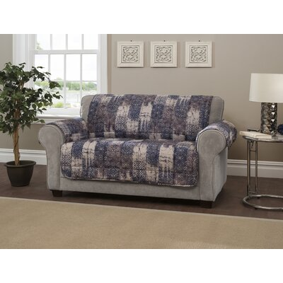 Box Cushion Slipcover Type: Loveseat, Size: 0.25 H x 88 W x 75.5 D