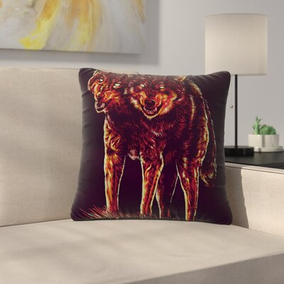 BarmalisiRTB 2head Outdoor Throw Pillow Size: 16 H x 16 W x 5 D