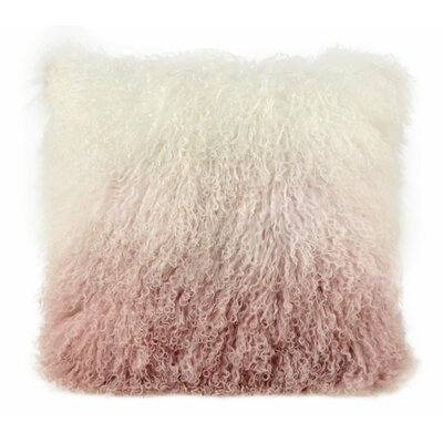 Ferrero Sheep Throw Pillow Color: Blush